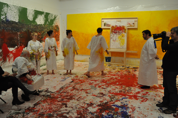 Performance de Hermann Nitsch